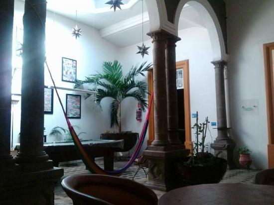 Hostel Guadalajara Hospedarte: área común
