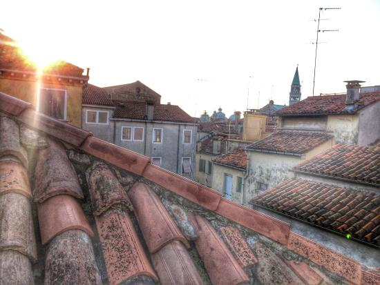 Ca' Leon D'Oro: View from the roof.