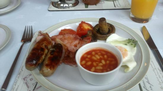 Tate House Bed and Breakfast: Full English Breakfast - excellent quality produce