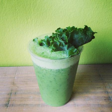 Cabarete Coffee Company: Green Goddess Smoothie - so fresh, so clean :)