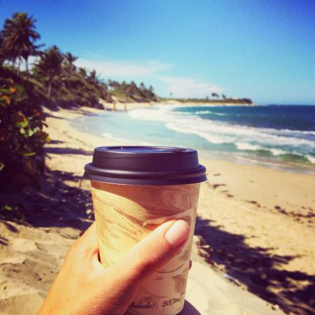 Cabarete Coffee Company: Starting the day off right; sun, surf, and strong coffee!