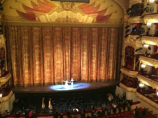 """Bolschoi-Theater: балет """"Жизель"""" историческая сцена"""