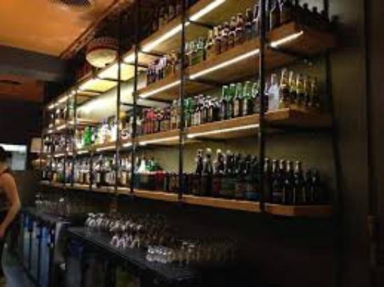 Nancy O's: Back Bar
