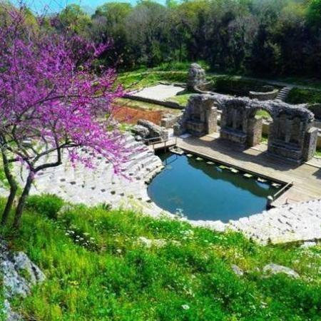 Albanië: butrinti-saranda