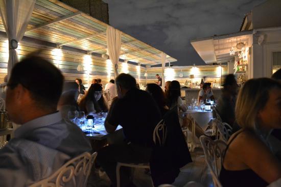 Kuzina: Roof top restaurant