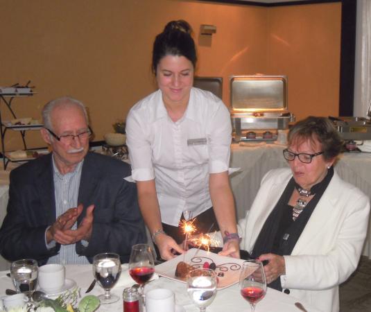 Auberge West Brome : L'anniversaire de ma mère....