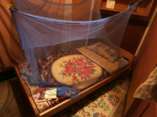 The Home of Edirisa Hostel Museum: My bed