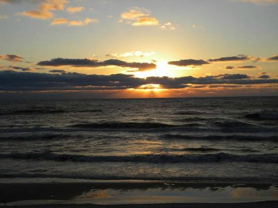 St. Joseph Peninsula State Park: oceanside sunrise