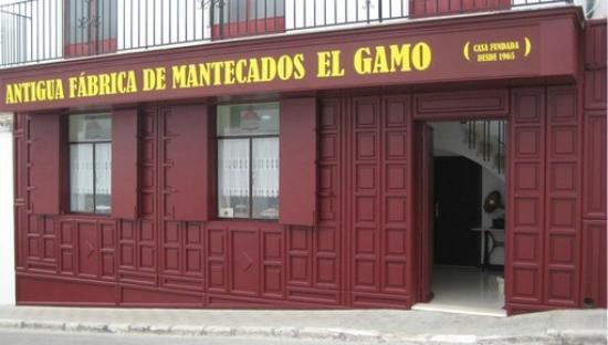 Estepa, Spain: Entrada a fábrica