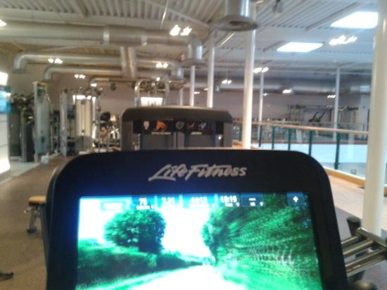 Shirley, UK: Gym View