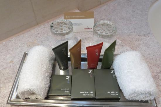 Bathroom Amenities Picture Of Movenpick Hotel Jumeirah Beach Dubai Tripadvisor