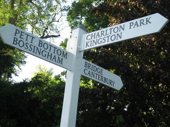 Bishopsbourne, UK: Lovely walks - Elham Valley Way & North Downs Way