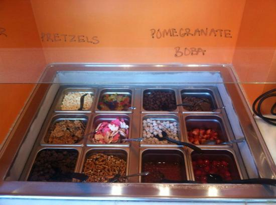 Coloring Pages For Yogurt : Top it coloring pages picture of top it frozen yogurt bar
