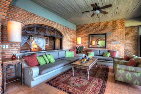 Casa Tres Vidas: Vida Alta - Sala/Living Room