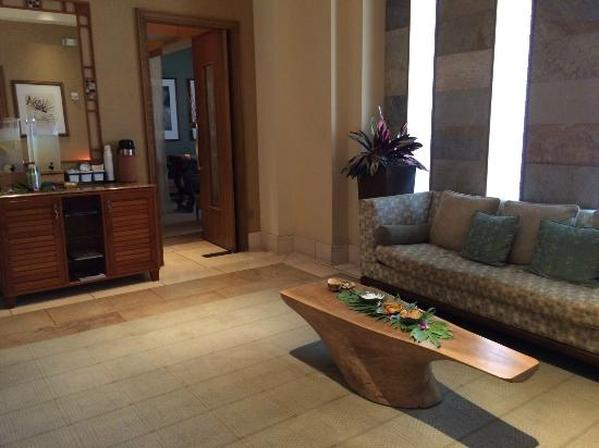 The Spa at Four Seasons Resort Maui: Co-ed relaxation lounge
