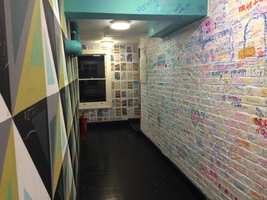 The Dictionary Hostel: Hallway
