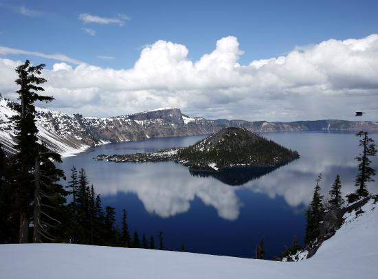 Crater Lake Lodge: Outstanding scenery
