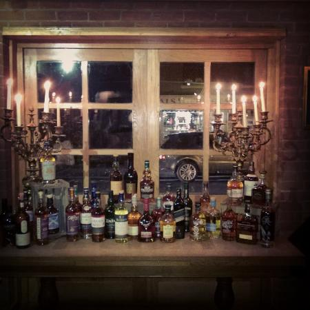 The Mere Inn : Extensive spirit collection