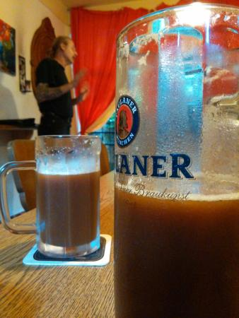 Sol de Copan: First IPA glass how lucky !!