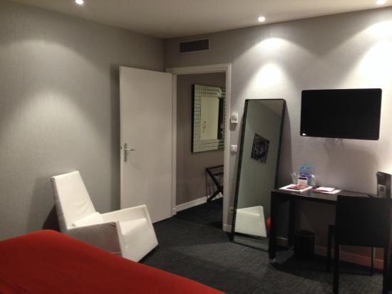 Hotel Le Saint-Georges : chambre 2