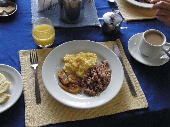 Hotel Trapp Family country Inn: Costa Rica Frühstück