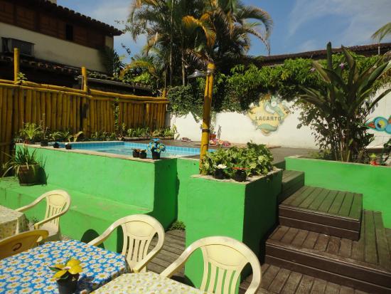 Che Lagarto Hostel Paraty: Piscina