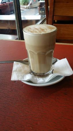 Savoy Cafe Restaurant : Chai soy latte
