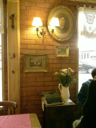 Cafe Inmigrante : Los detalles de su decoración son de lo mejor.