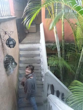 International Mochilero Backpacker's Guesthouse: Crazy stairs