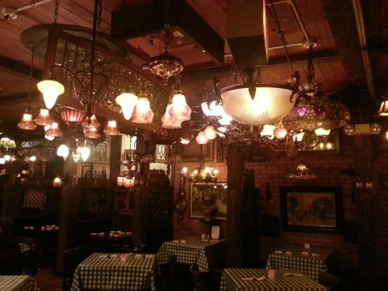Gorgeous chandeliers picture of gullivers pizzeria and restaurant gullivers pizzeria and restaurant gorgeous chandeliers aloadofball
