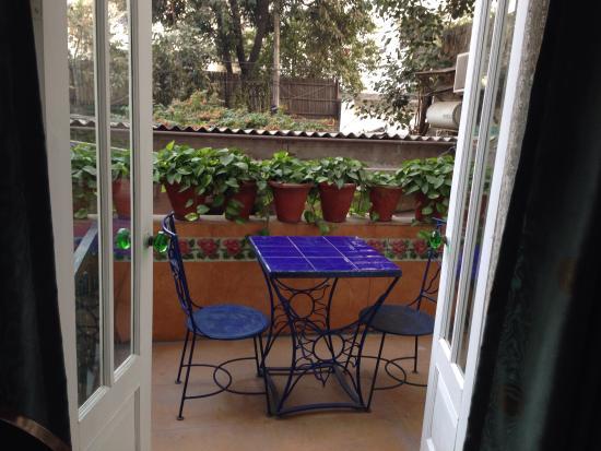 Devna: The balcony