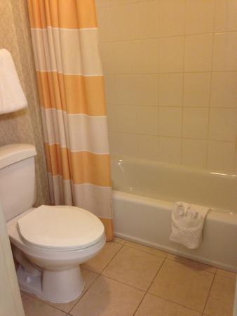Residence Inn Fort Lauderdale Plantation: Dusche