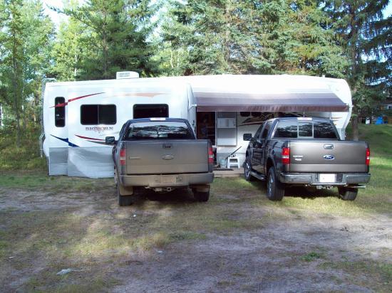 Conklin, Canadá: RV Parking