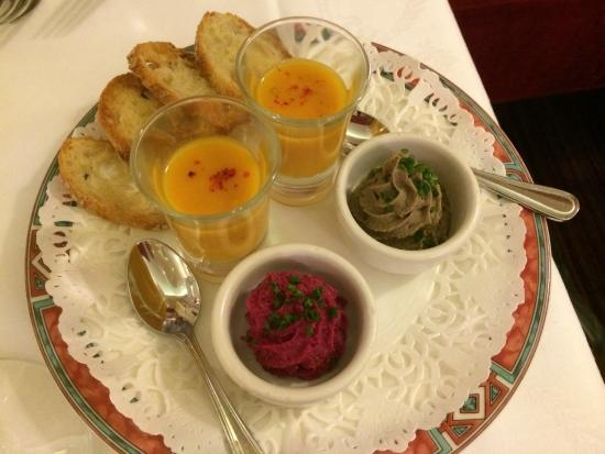 Graindorge: Hors d'oeuvres