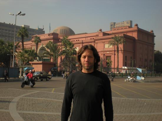 Liberation Square (Midan El-Tahreer): El museo desde la plaza