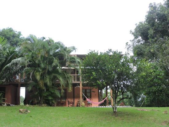 Bambu Guest House: The back garden view