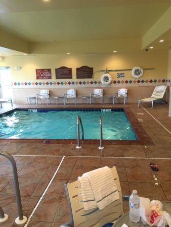 Hilton Garden Inn Indianapolis/Carmel: Pool