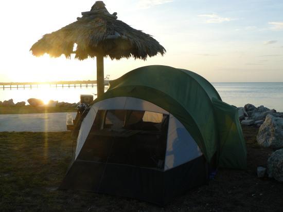 Jolly Roger RV Resort: Sunset!