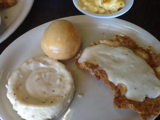 Cartwright's Ranch House: Mashed potatoes as a side