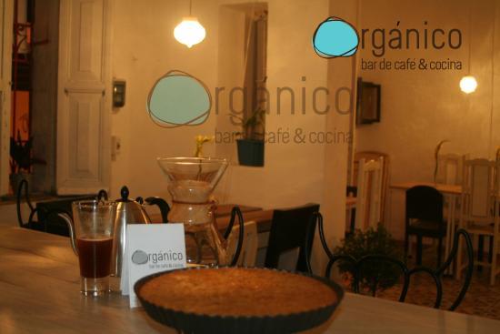 Organico bar de cafe & cocina