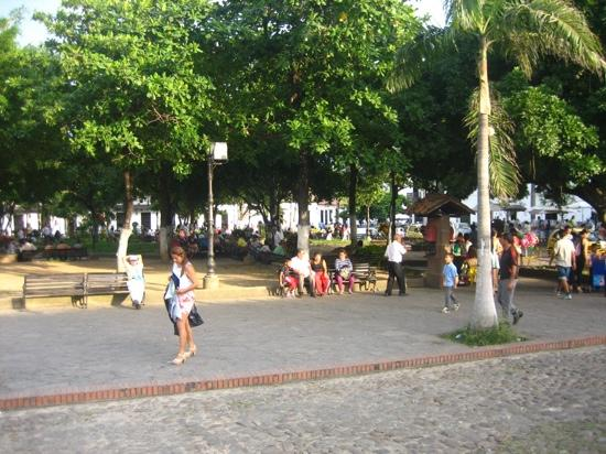 Giron Chill Out: het centrale plein