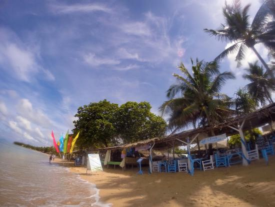 Isara Lanta Resort : The Resort had an awesome Greek restaurant, and as you can see, it's not a bad location! Paradis
