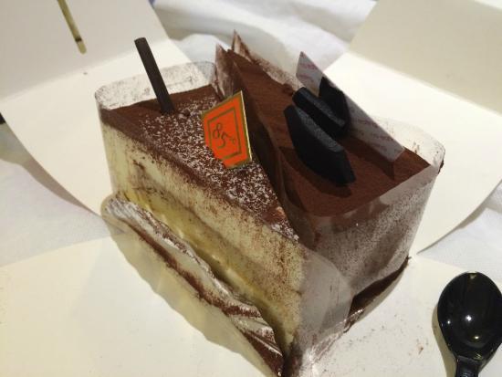 85°C Daily Cafe: tiramisu&不知名朱古力蛋糕