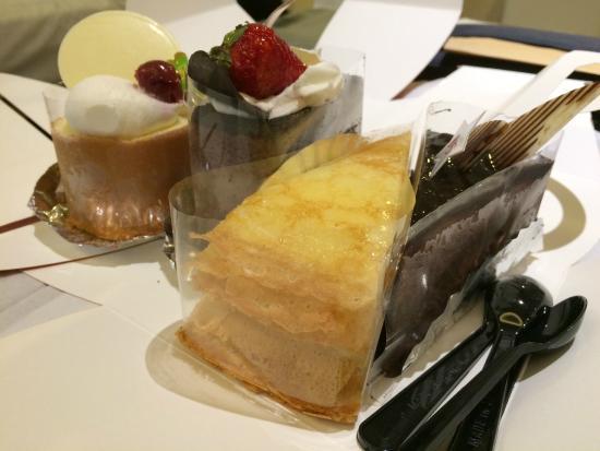 85°C Daily Cafe: 法式千層蛋糕好食!!