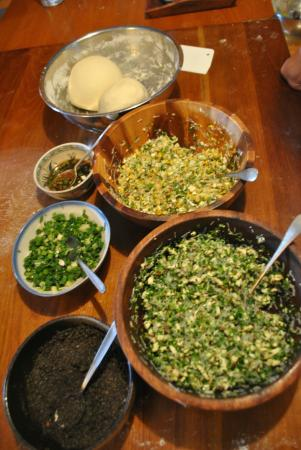 Jodie's Kitchen Cooking Class: ingredients