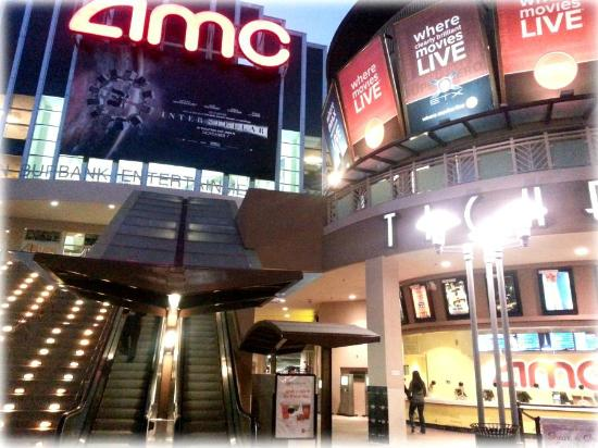 Burbank, CA: AMC Front & Ticket Booth