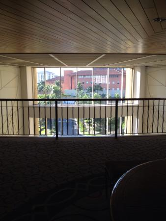 Real InterContinental Costa Rica at Multiplaza Mall: View from the lobby in the 5th floor