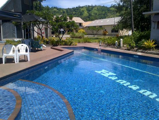 Rabaul Hotel Garden Area