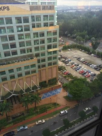 Grand Bluewave Hotel Shah Alam : the view from room