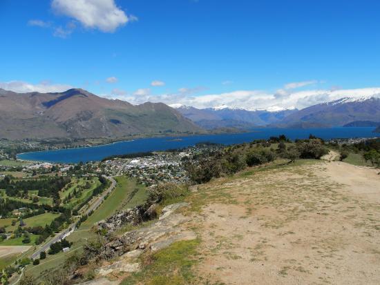 Mount Iron Track: Vanaf de top van Mt. Iron, Wanaka NZ